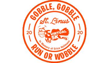 Saint Linus Annual 5K Turkey Trot Logo