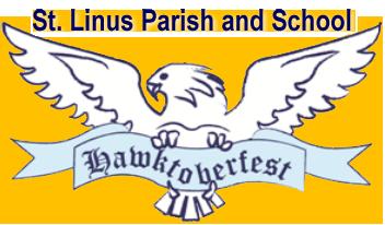 Saint Linus Hawktoberfest 2019 Logo