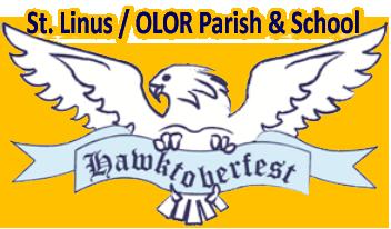 Saint Linus Hawktoberfest 2021 Logo