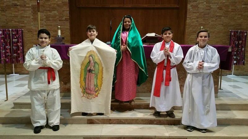 Our Lady of Guadalupe Feast Day Prayer Service and Reenactment